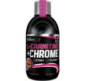L-CARNITINE + CHROME BIOTECH 500ml