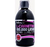 L-CARNITINE 100.000 LIQUID BIOTECH 500ml (κεράσι)