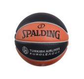 Μπάλα Μπάσκετ SPALDING EuroLeague Official Ball Replica Rubber
